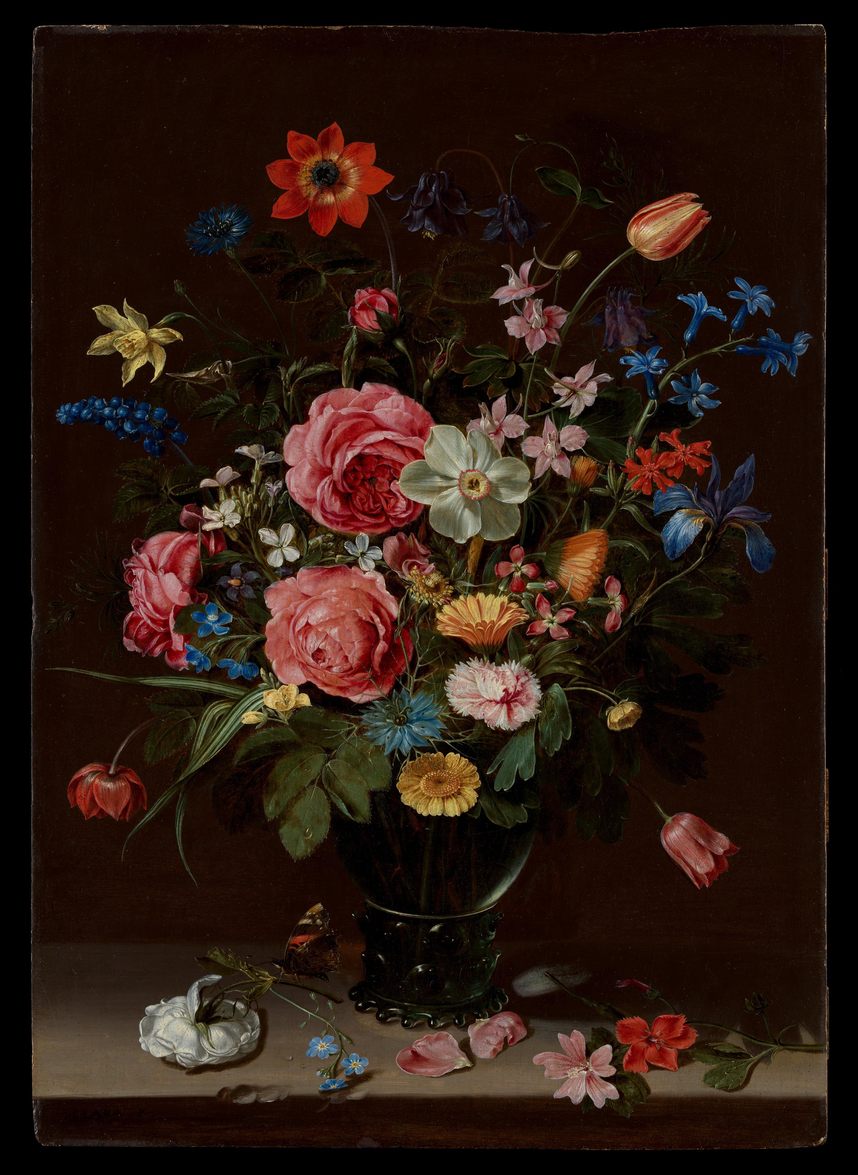Clara Peeters A Bouquet Of Flowers The Metropolitan Museum Of Art