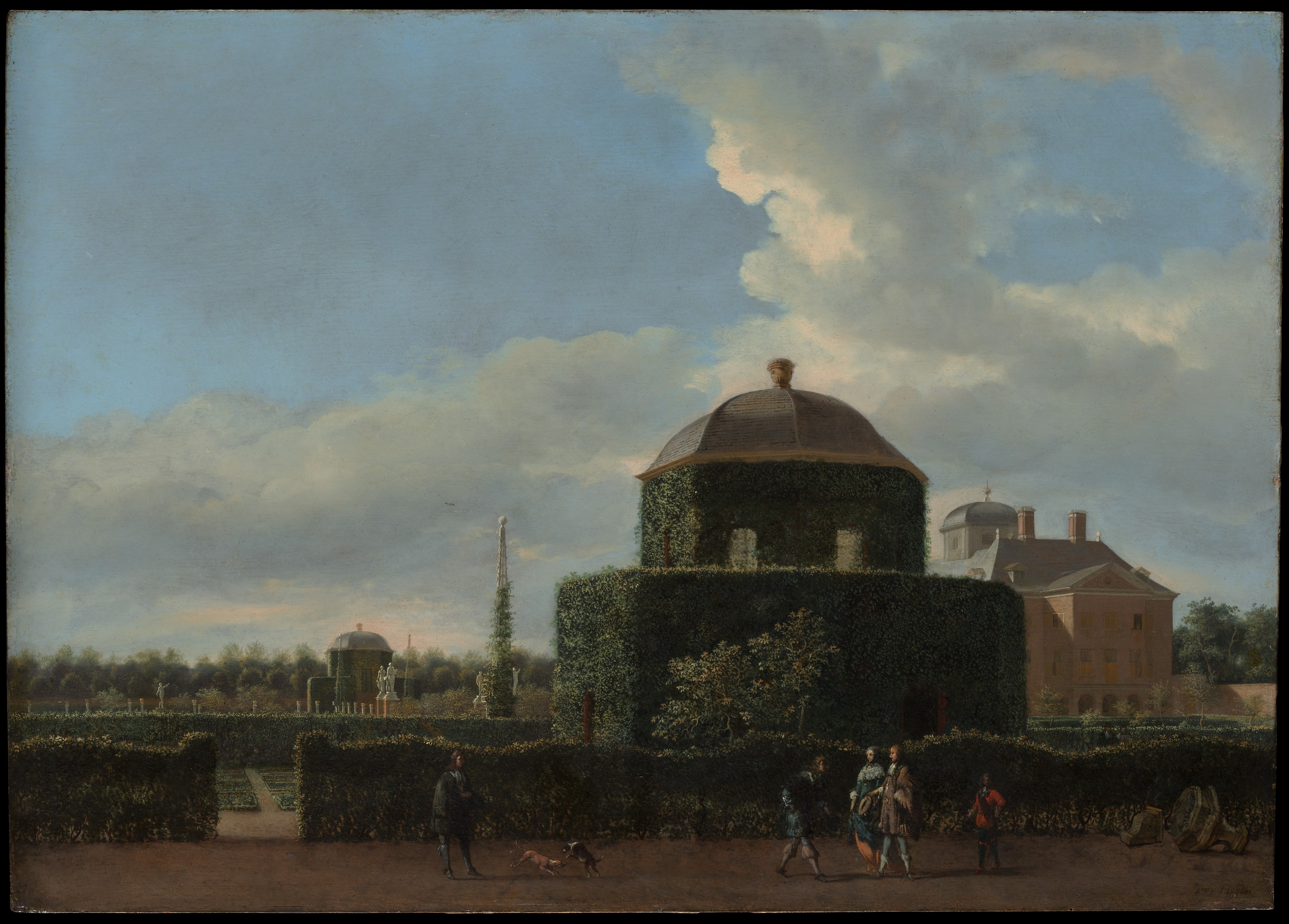 Jan van der heyden the huis ten bosch at the hague and for Huis ten bosch hague