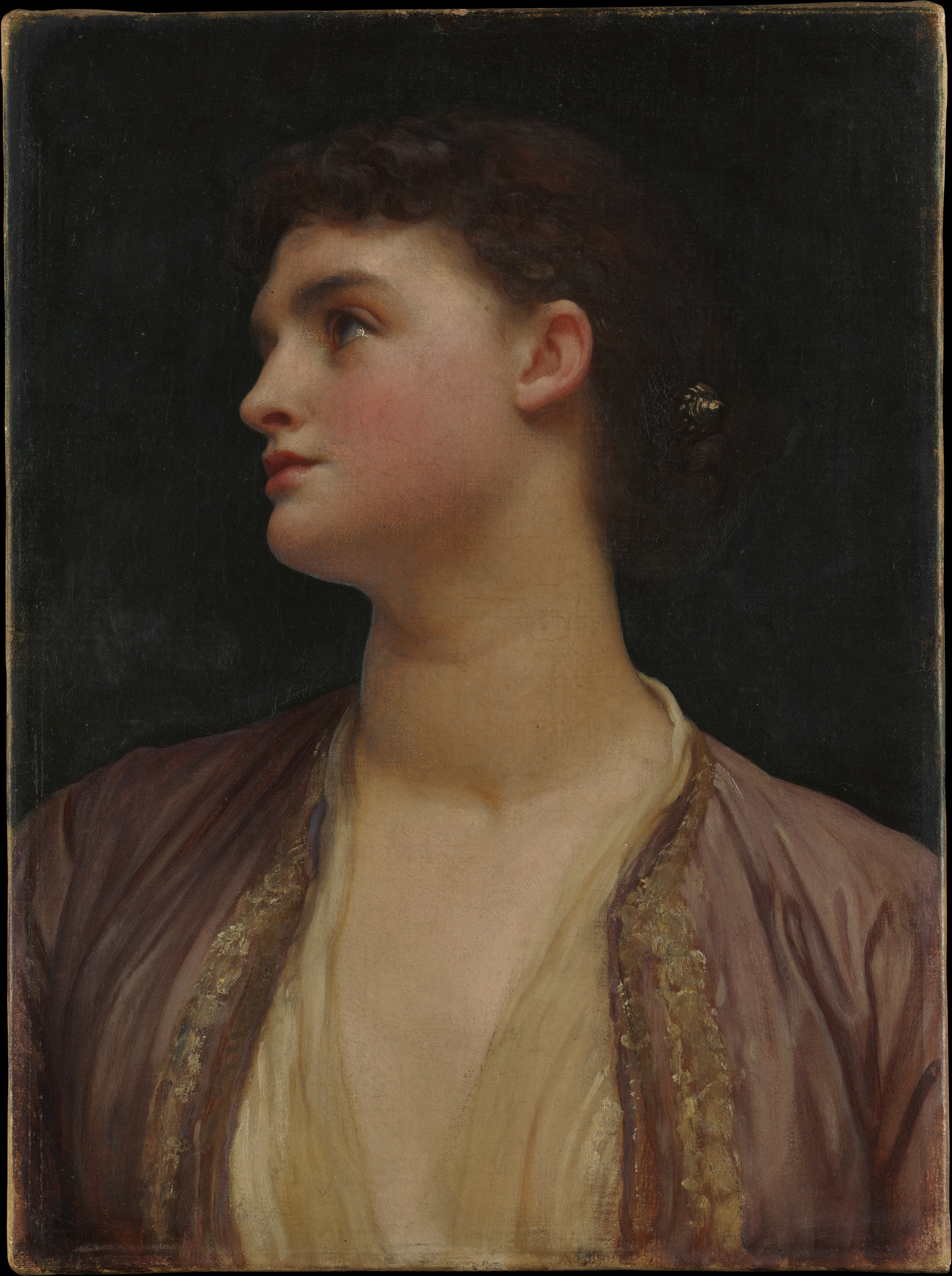 Frederic Lord Leighton Lucia The Met