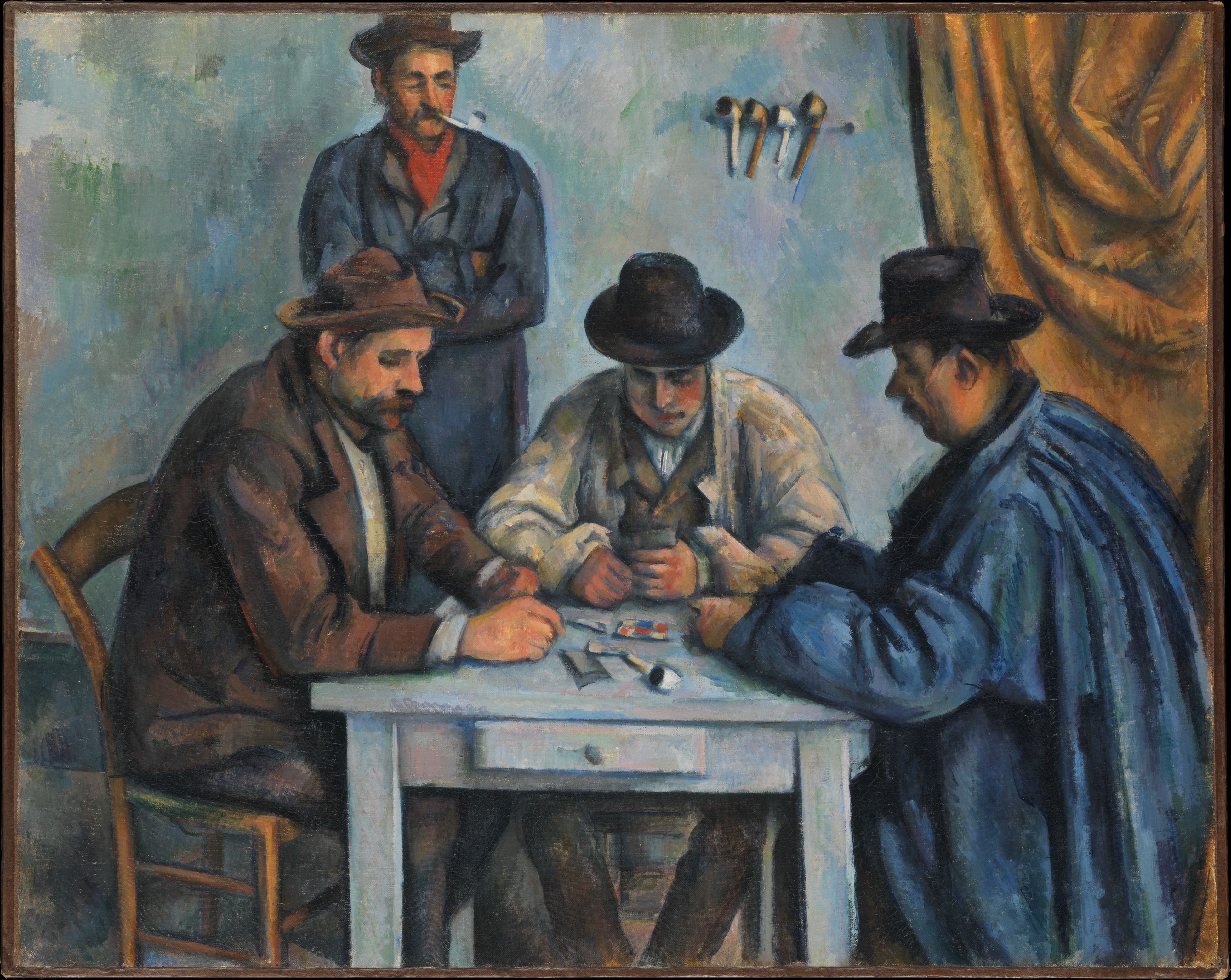Paul Cezanne The Card Players The Metropolitan Museum Of Art
