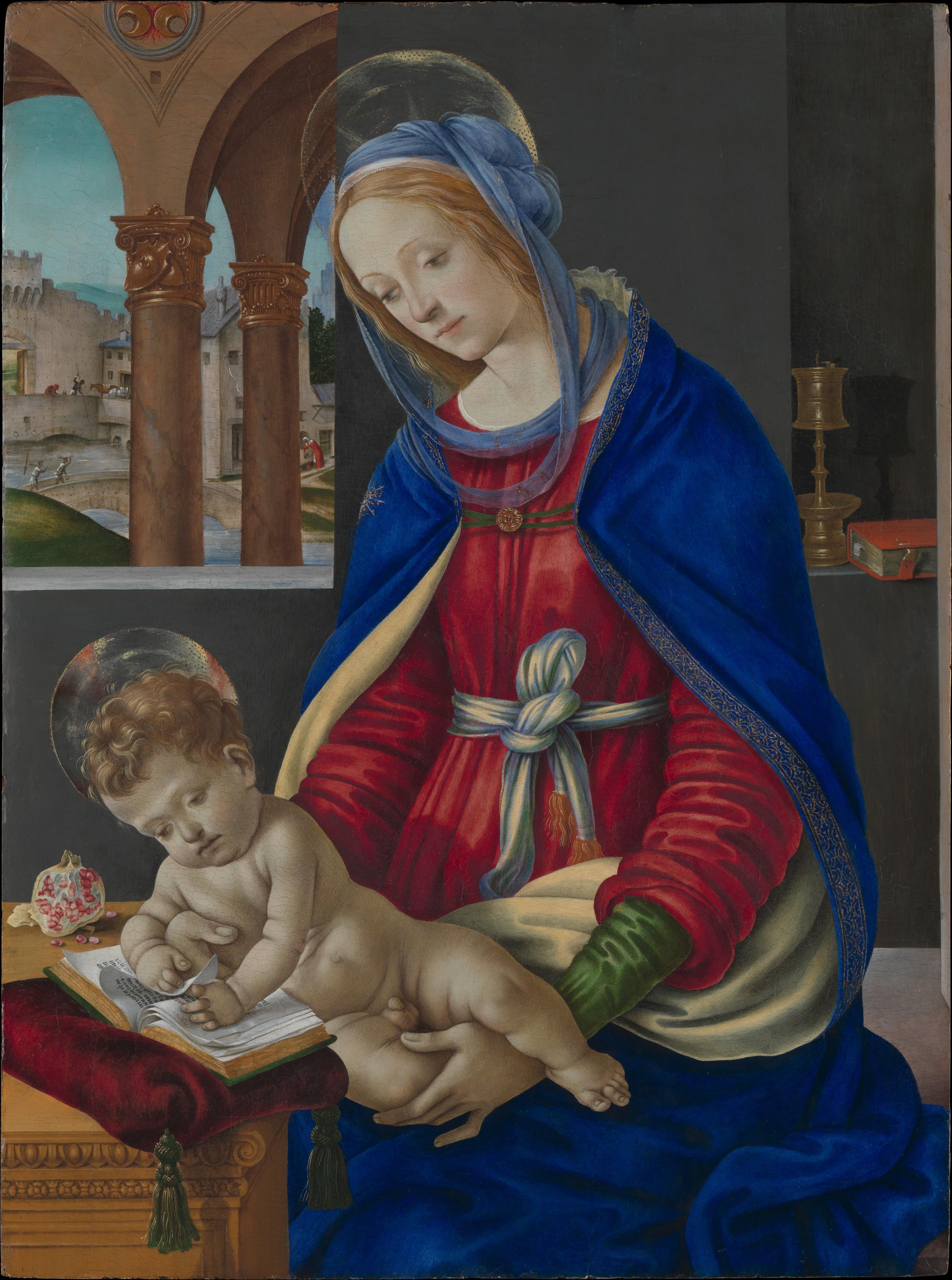Filippino Lippi Madonna And Child The Met