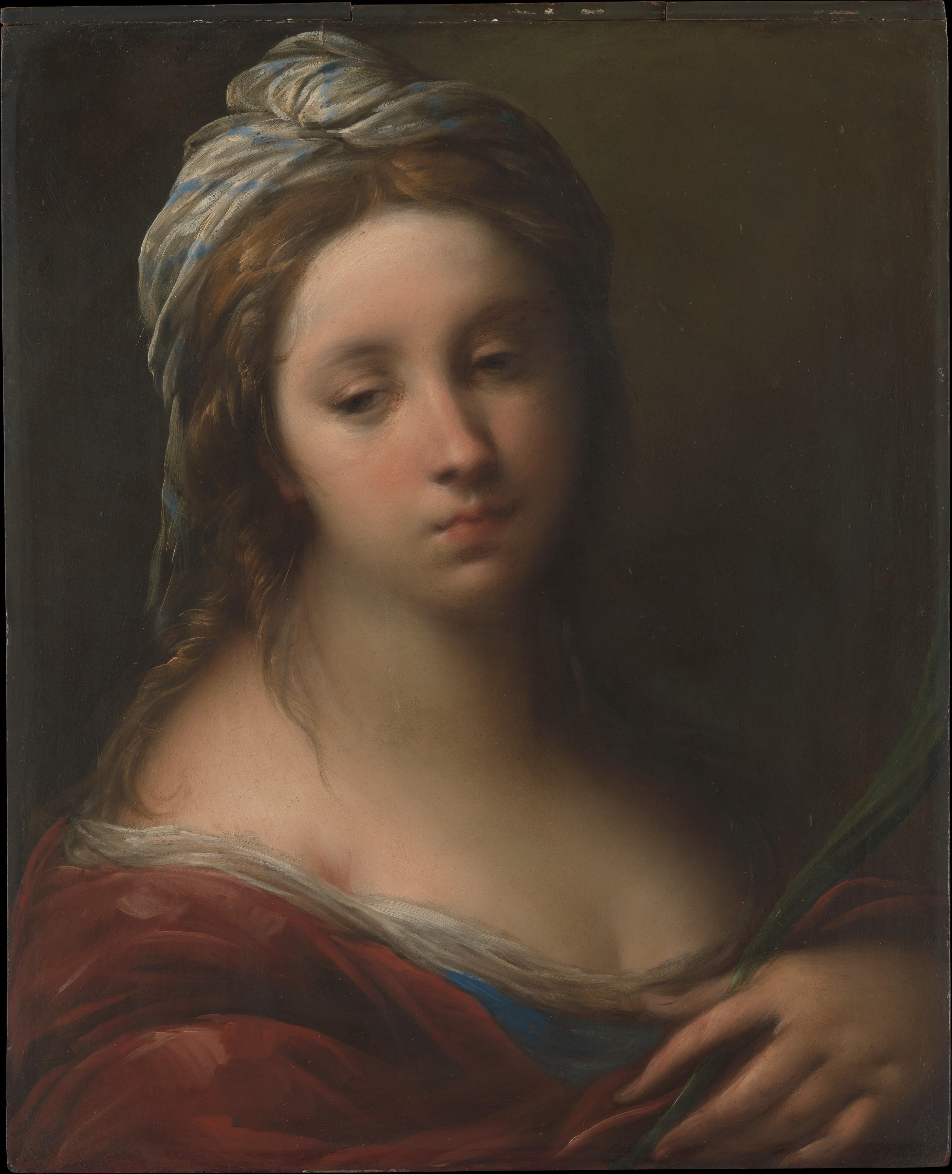 Carlo Francesco Nuvolone A Female Martyr Saint The Met
