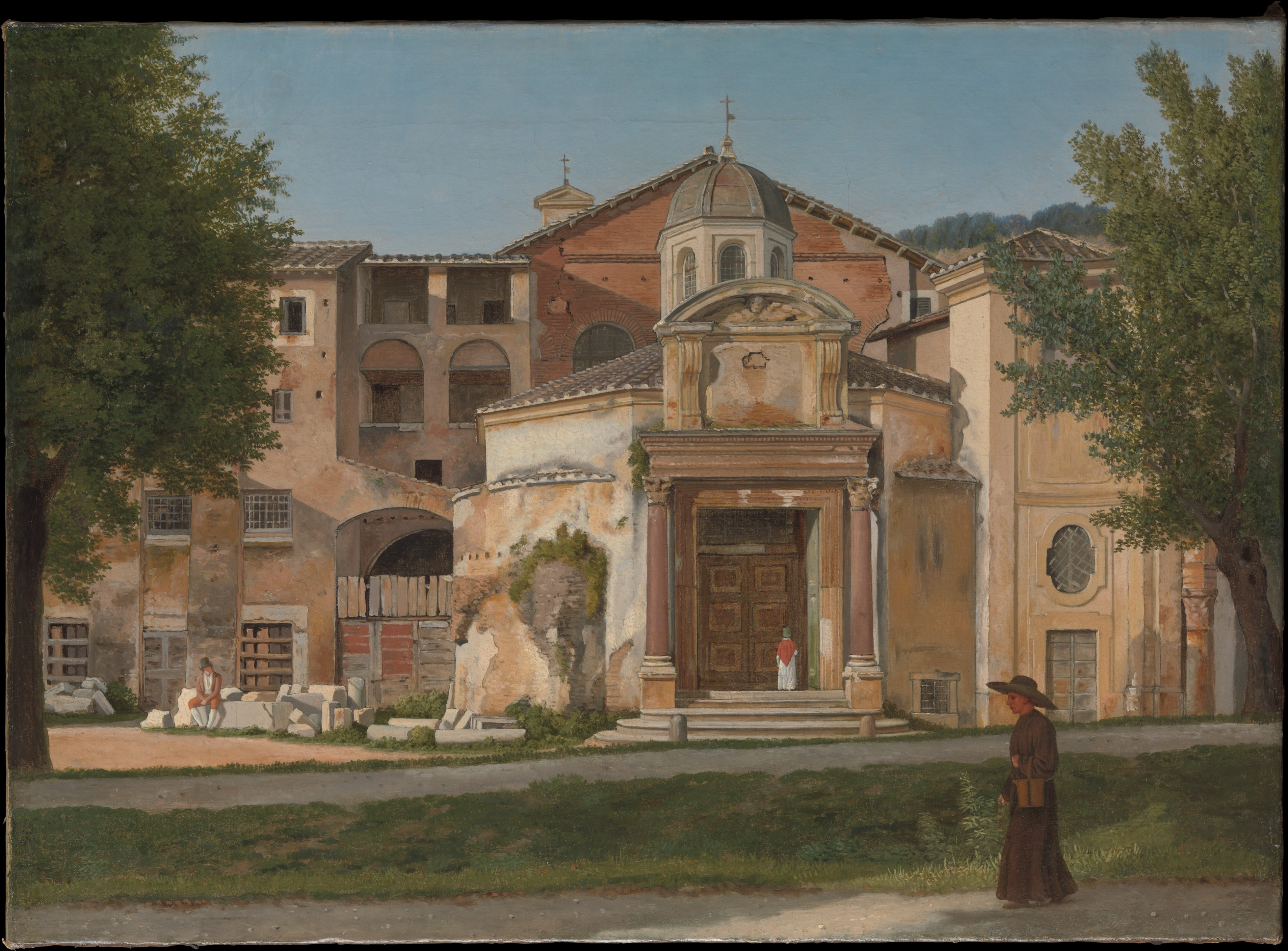 Christoffer Wilhelm Eckersberg A Section Of The Via