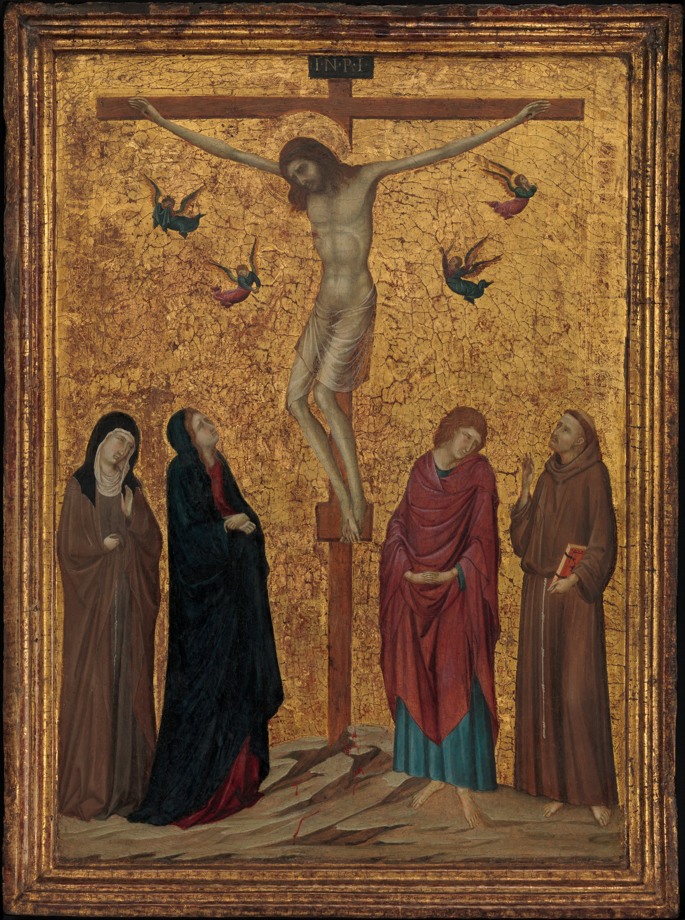 Attributed To Ugolino Da Siena The Crucifixion The Met