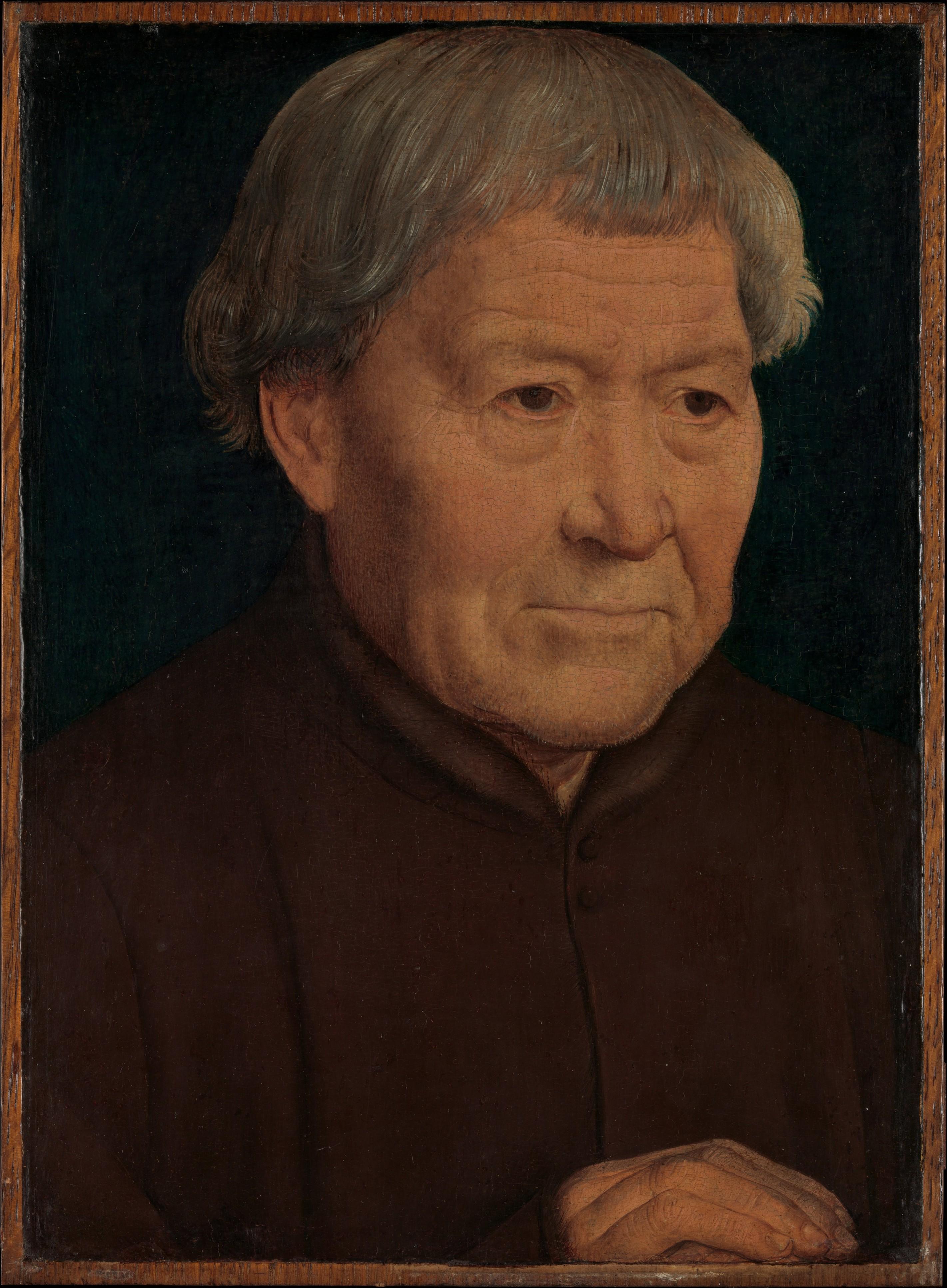 87562749f3ef Hans Memling | Portrait of an Old Man | The Met