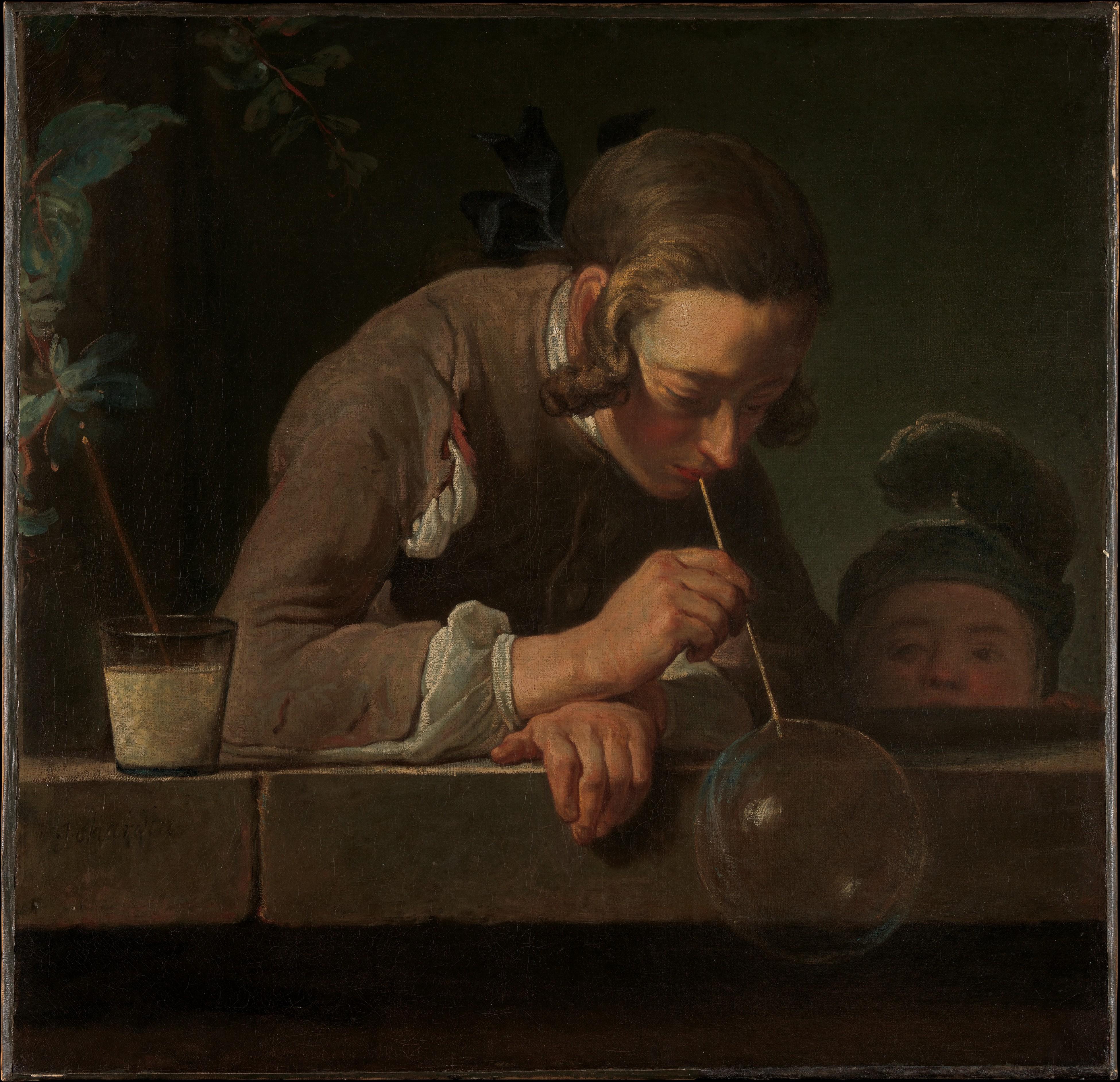 The Little Shop Peinture jean siméon chardin | soap bubbles | the met