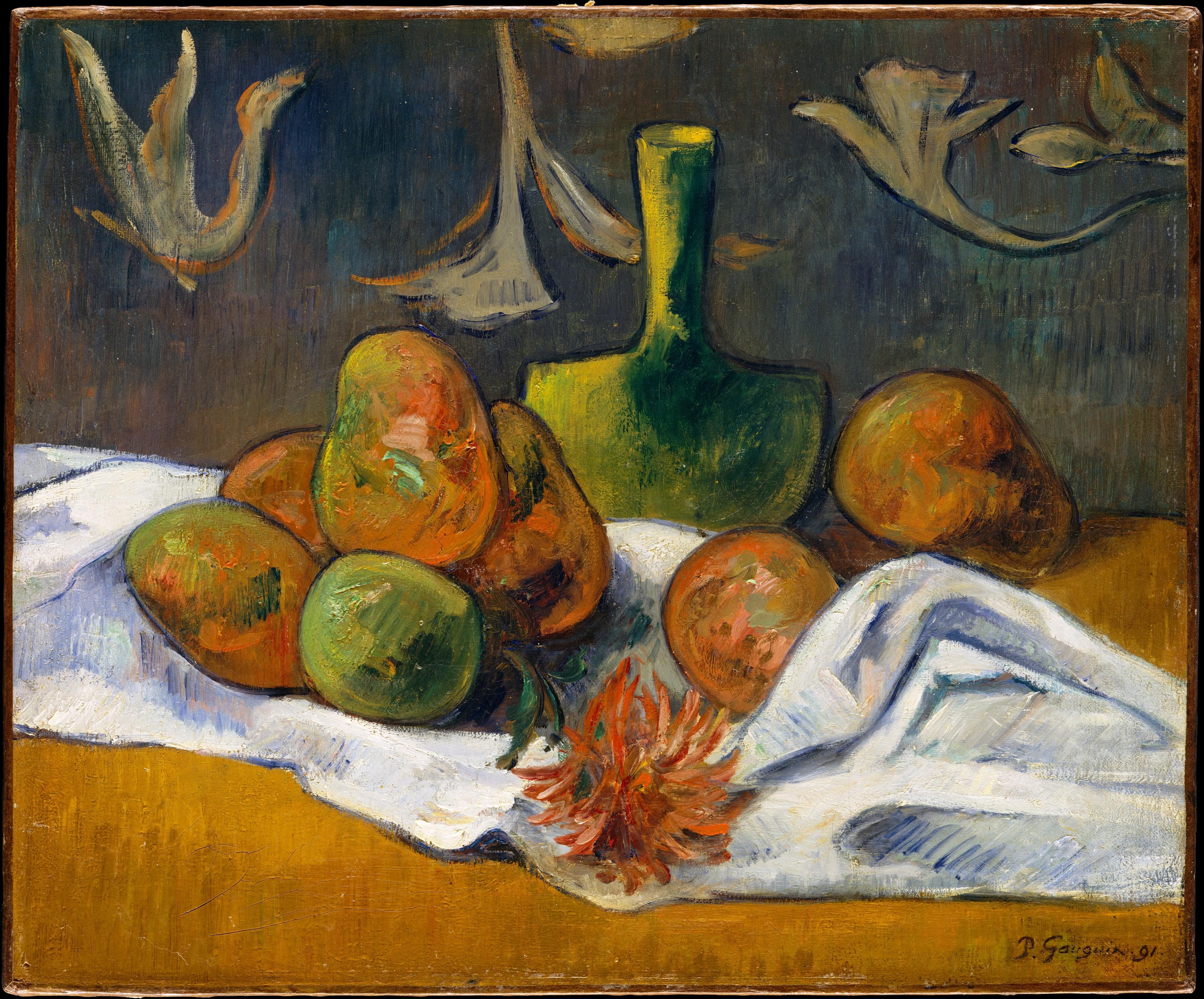 style of paul gauguin