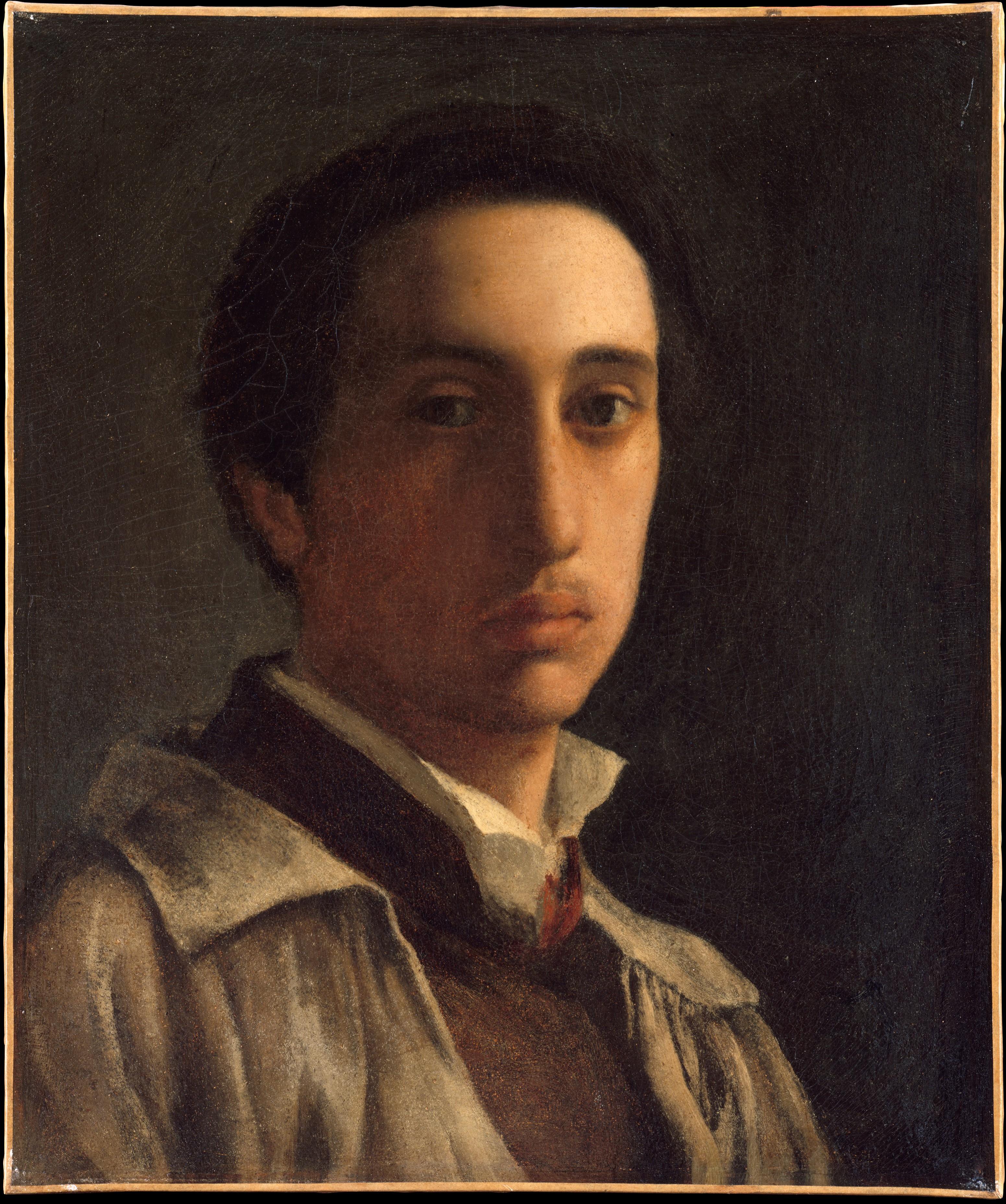 Edgar Degas | Self-Portrait | The Met