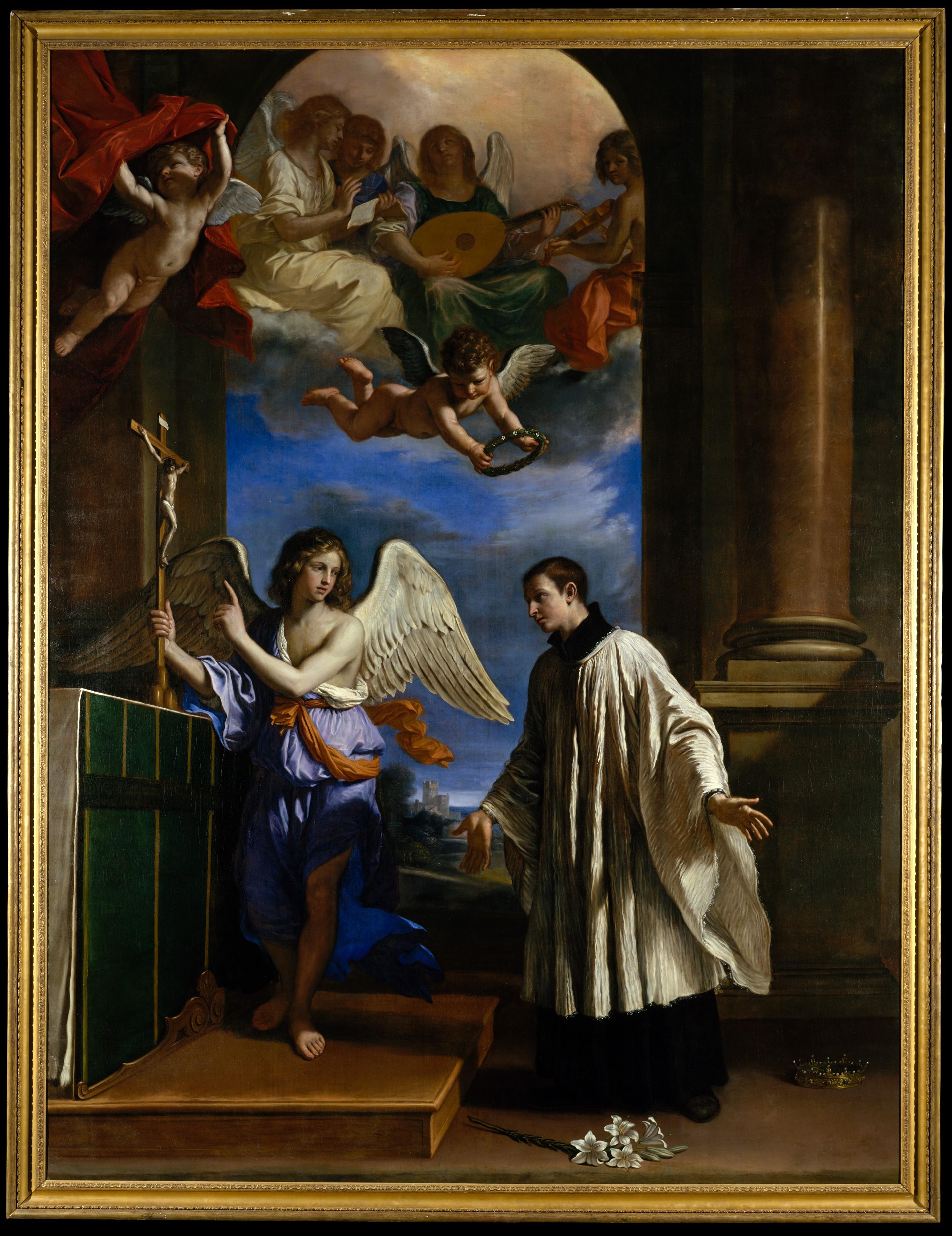 Guercino Giovanni Francesco Barbieri The Vocation Of