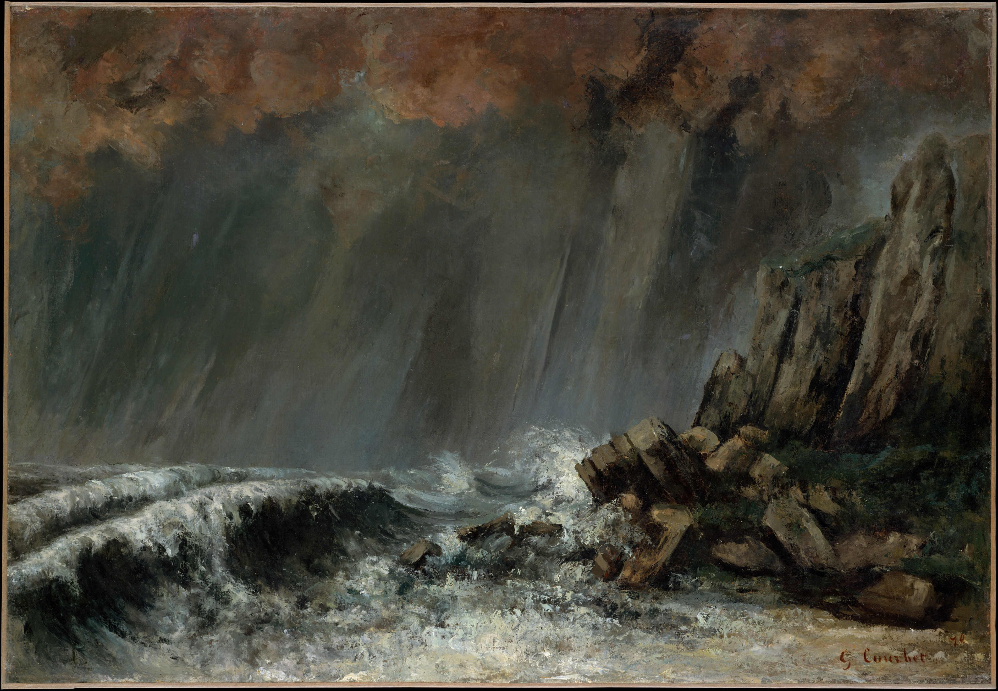 To Venture Independence Courbet