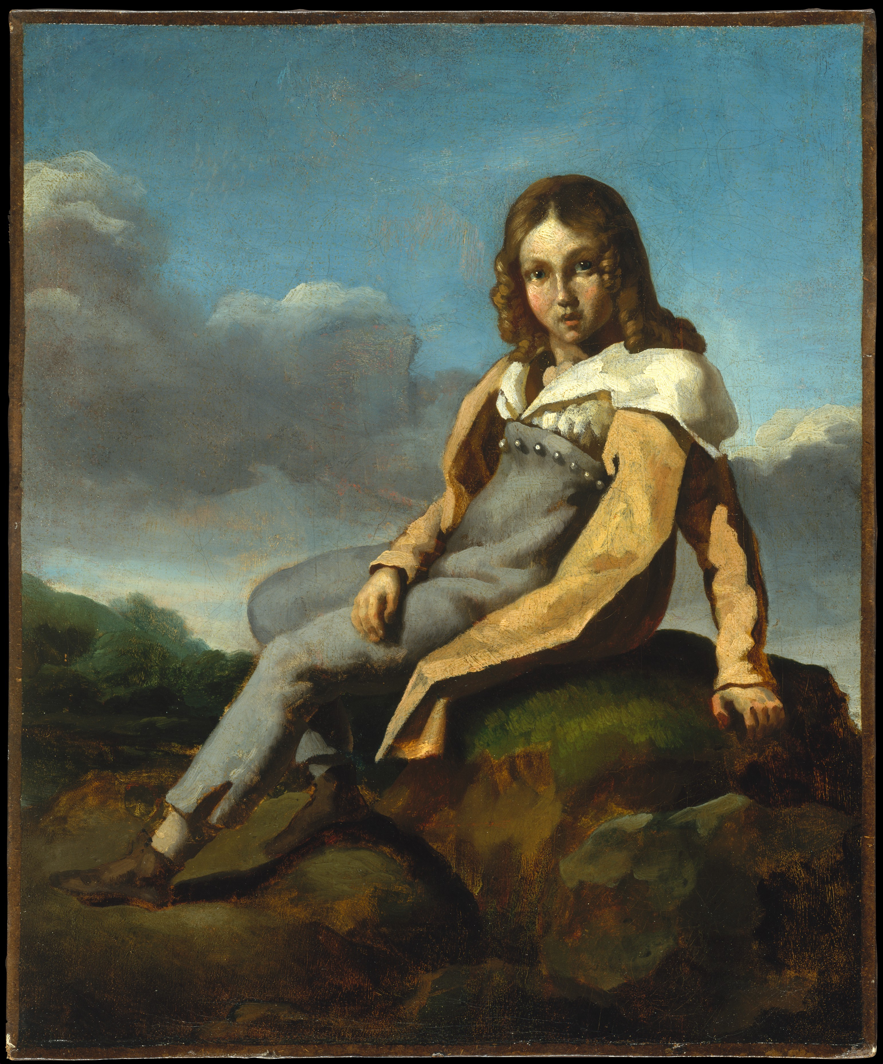 49baa3cc7 Théodore Gericault | Alfred Dedreux (1810–1860) as a Child | The Met
