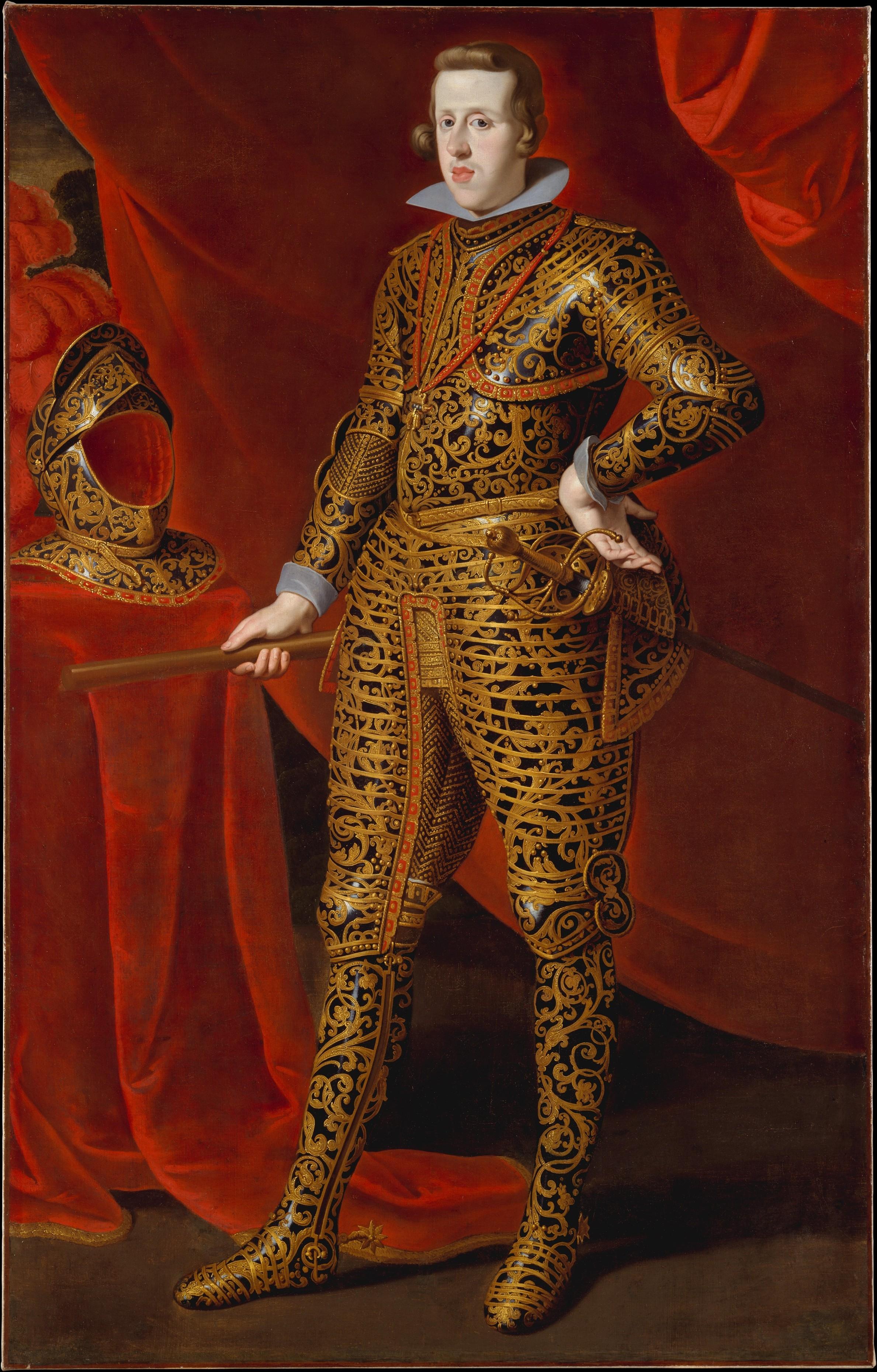 Gaspar de Crayer   Philip IV (1605–1665) in Parade Armor