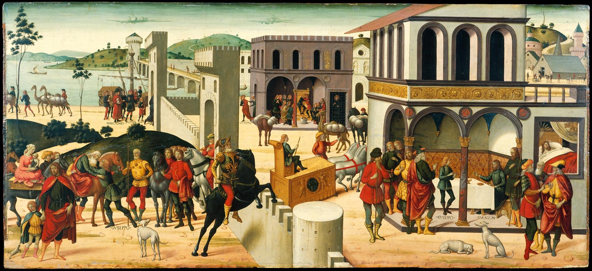 Biagio D Antonio The Story Of Joseph The Met