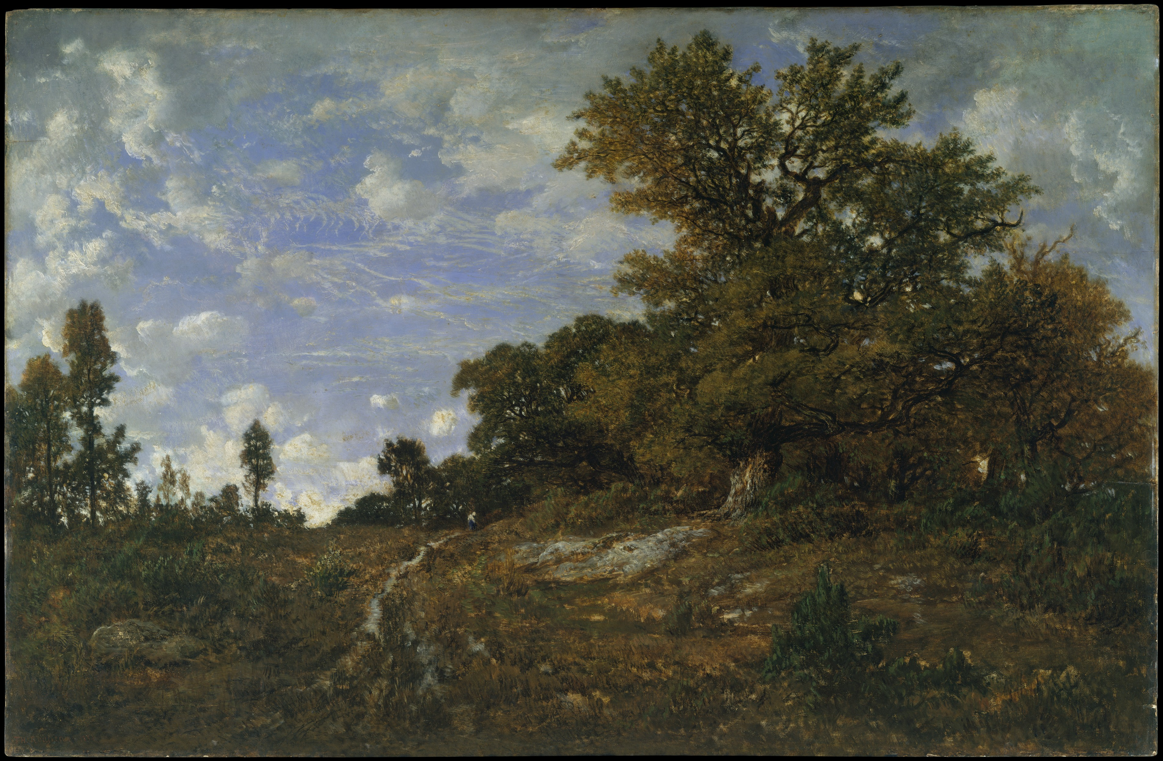 Quote Des Artistes Peintres théodore rousseau | the edge of the woods at monts-girard
