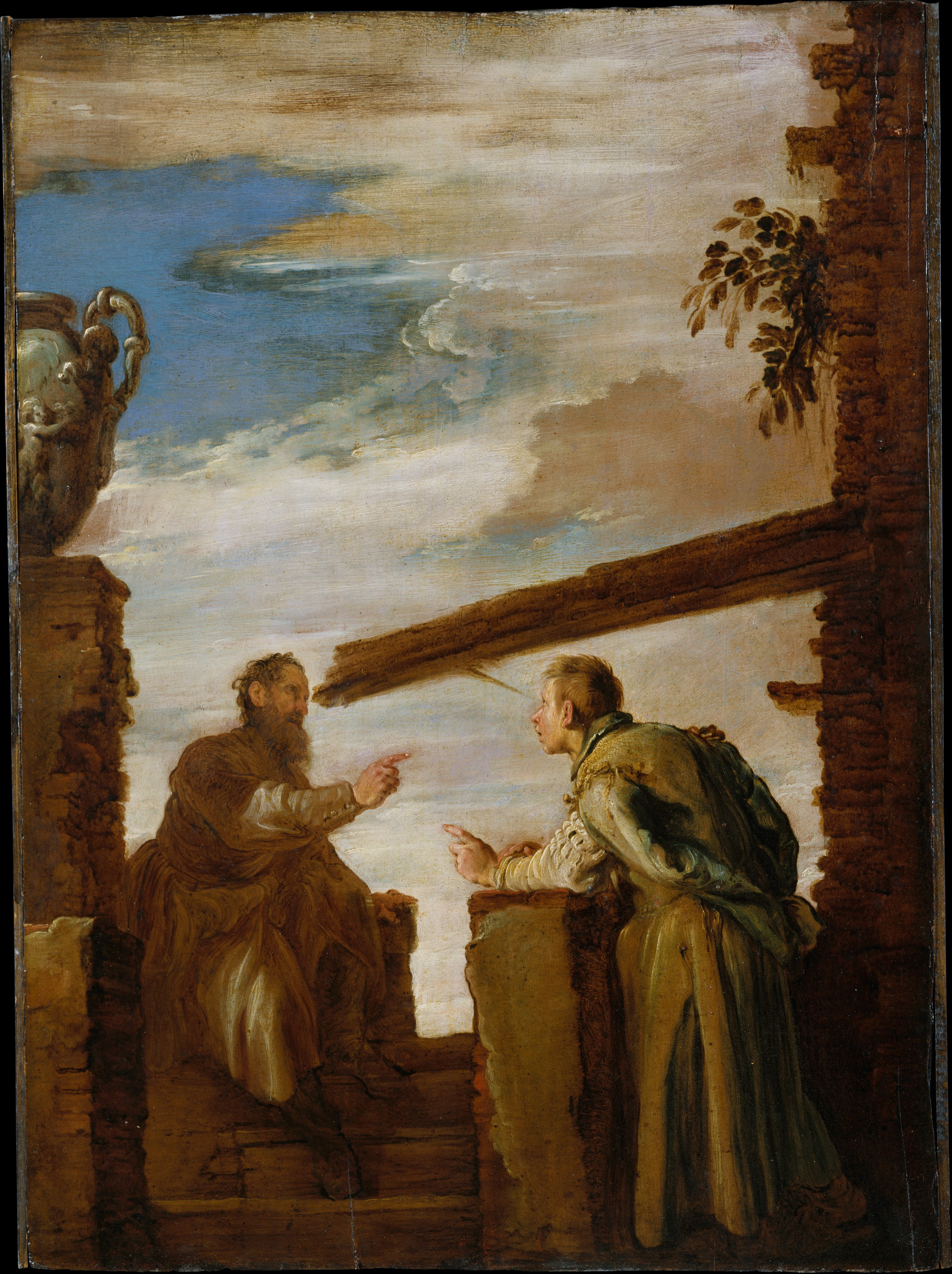 Domenico Fetti The Parable Of The Mote And The Beam