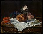 The Brioche, Édouard Manet (French, Paris 1832–1883 Paris), Oil on canvas