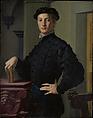 Portrait of a Young Man, Bronzino (Agnolo di Cosimo di Mariano) (Italian, Monticelli 1503–1572 Florence), Oil on wood