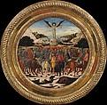 The Triumph of Fame; (reverse) Impresa of the Medici Family and Arms of the Medici and Tornabuoni Families, Giovanni di ser Giovanni Guidi (called Scheggia) (Italian, San Giovanni Valdarno 1406–1486 Florence), Tempera, silver, and gold on wood