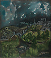View of Toledo, El Greco (Domenikos Theotokopoulos) (Greek, Iráklion (Candia) 1540/41–1614 Toledo), Oil on canvas