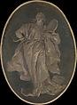 Prudence, Workshop of Giovanni Battista Tiepolo (Italian, Venice 1696–1770 Madrid), Fresco, transferred to canvas