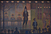 Circus Sideshow (Parade de cirque), Georges Seurat (French, Paris 1859–1891 Paris), Oil on canvas