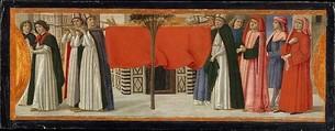 The Burial of Saint Zenobius, Davide Ghirlandaio (David Bigordi) (Italian, Florence 1452–1525 Florence), Tempera and gold on wood