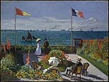 Garden at Sainte-Adresse, Claude Monet (French, Paris 1840–1926 Giverny), Oil on canvas
