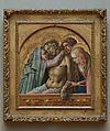 Pietà, Carlo Crivelli (Italian, Venice (?), active by 1457–died 1495 Ascoli Piceno), Tempera on wood, gold ground