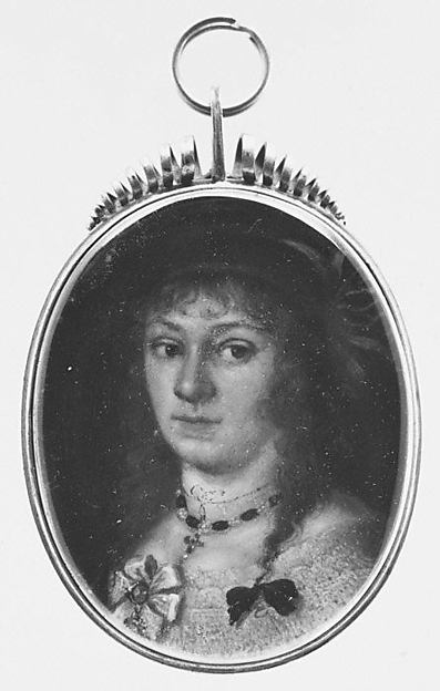 Portrait of a Woman, Continental Painter (ca. 1630), Oil on copper
