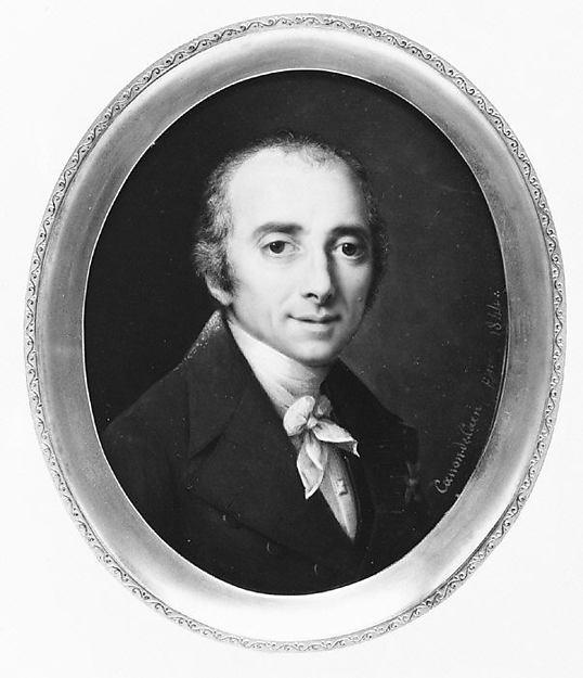 Baron Joseph Dominique Louis (1755–1837), Pierre Laurent Canon (French, 1787–1852), Ivory