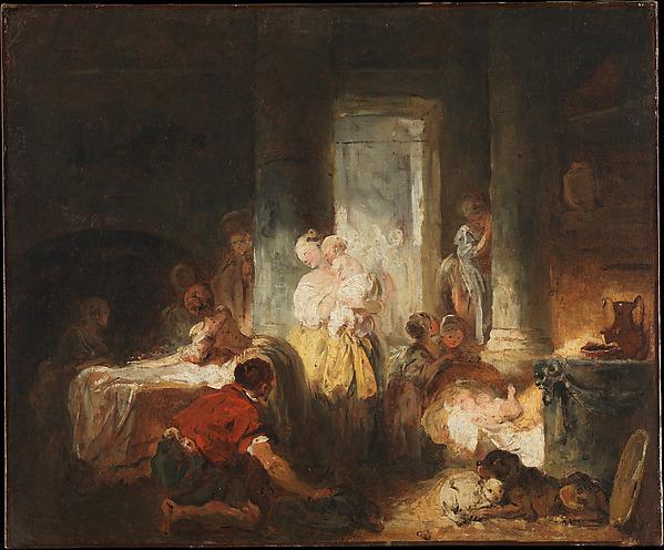 Roman Interior, Jean Honoré Fragonard (French, Grasse 1732–1806 Paris), Oil on canvas
