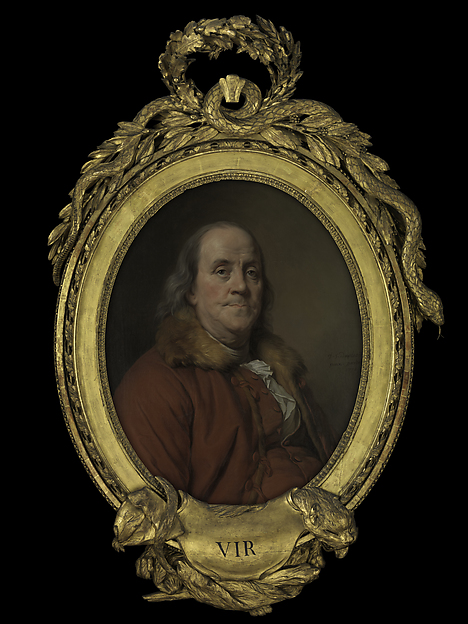 Joseph Siffred Duplessis Benjamin Franklin 17061790 The Met