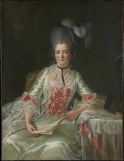 Marie Rinteau, called Mademoiselle de Verrières, François Hubert Drouais (French, Paris 1727–1775 Paris), Oil on canvas