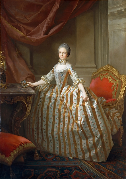 Maria Luisa of Parma (1751–1819), Later Queen of Spain, Laurent Pécheux (French, Lyons 1729–1821 Turin), Oil on canvas