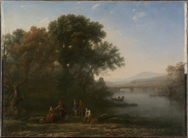 The Ford, Claude Lorrain (Claude Gellée) (French, Chamagne 1604/5?–1682 Rome), Oil on canvas