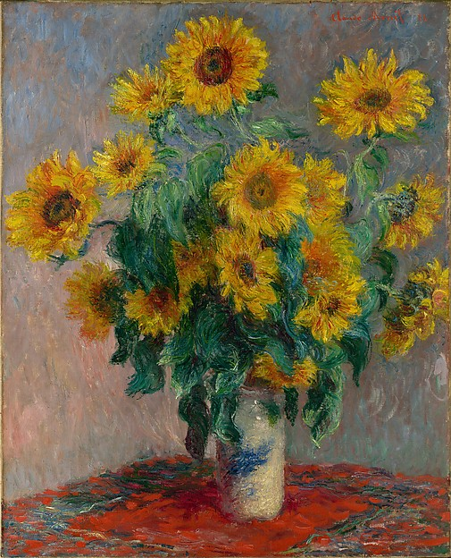 Bouquet of Sunflowers, Claude Monet (French, Paris 1840–1926 Giverny), Oil on canvas