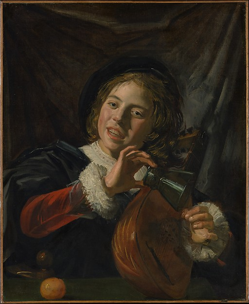 Boy with a Lute, Frans Hals (Dutch, Antwerp 1582/83–1666 Haarlem), Oil on canvas