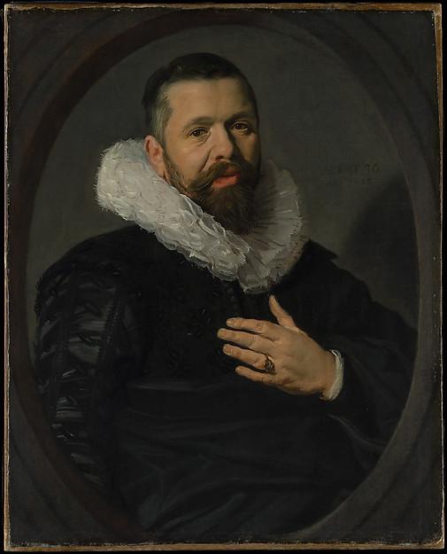 Portrait of a Bearded Man with a Ruff, Frans Hals (Dutch, Antwerp 1582/83–1666 Haarlem), Oil on canvas