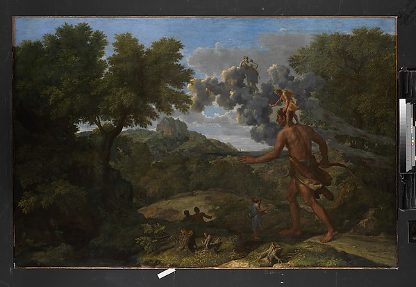 Blind Orion Searching for the Rising Sun, Nicolas Poussin (French, Les Andelys 1594–1665 Rome), Oil on canvas
