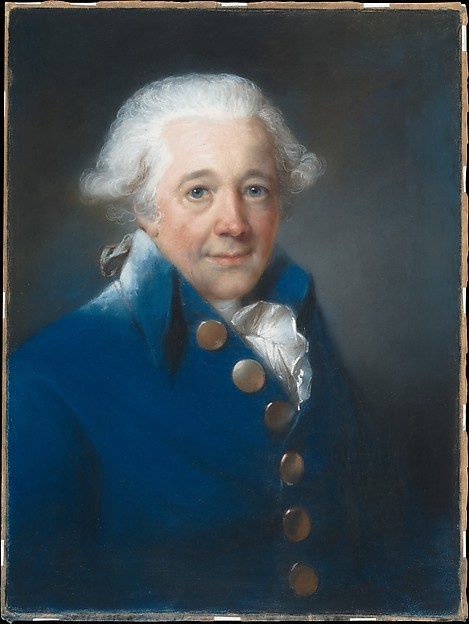 William Man Godschall (1720–1802), John Russell (British, Guildford 1745–1806 Hull), Pastel on paper, laid down on canvas