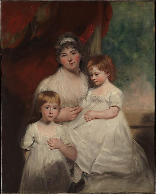 Mrs. John Garden (Ann Garden, 1769–1842) and Her Children, John (1796–1854) and Ann Margaret (born 1793), John Hoppner (British, London 1758–1810 London), Oil on canvas