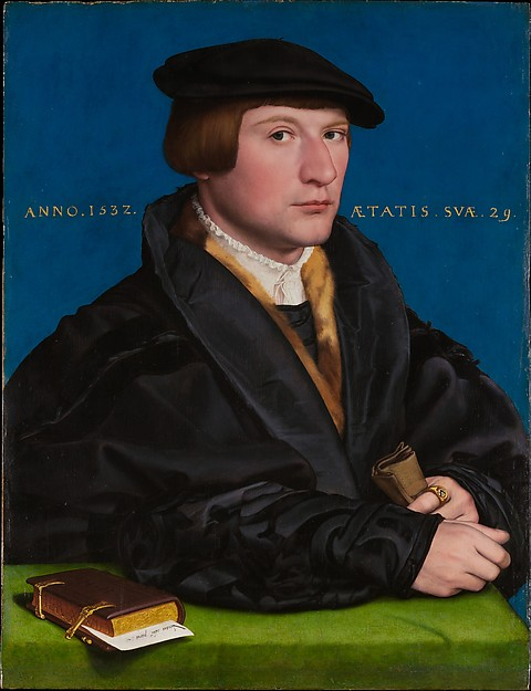 Hermann von Wedigh III (died 1560), Hans Holbein the Younger (German, Augsburg 1497/98–1543 London), Oil and gold on oak
