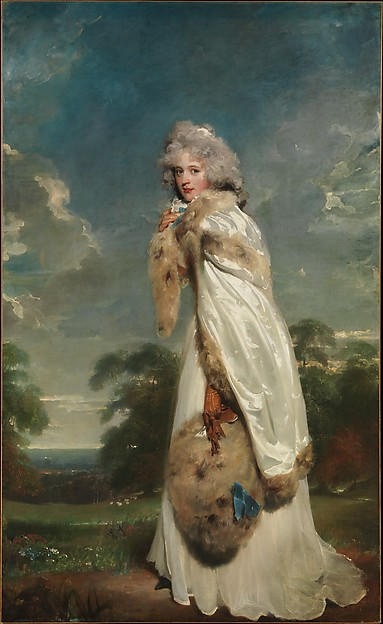 Elizabeth Farren (born about 1759, died 1829), Later Countess of Derby, Sir Thomas Lawrence (British, Bristol 1769–1830 London), Oil on canvas