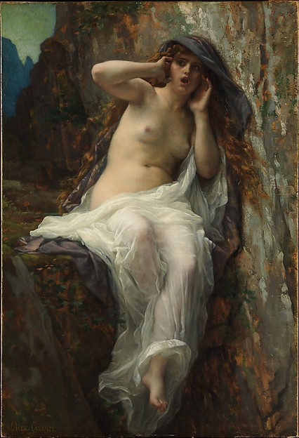 Echo, Alexandre Cabanel (French, Montpellier 1823–1889 Paris), Oil on canvas