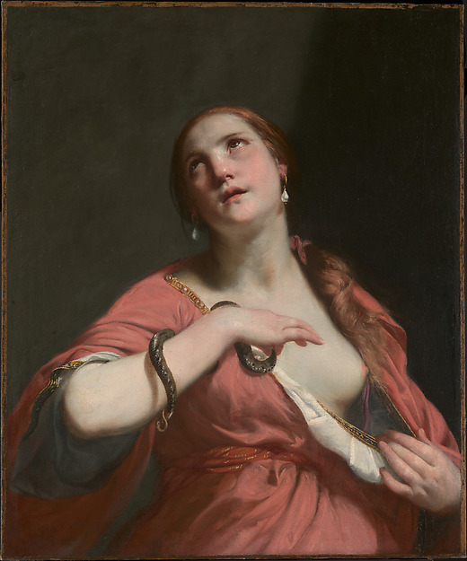 The Death of Cleopatra, Guido Cagnacci (Italian, Santarcangelo di Romagna 1601–1663 Vienna), Oil on canvas