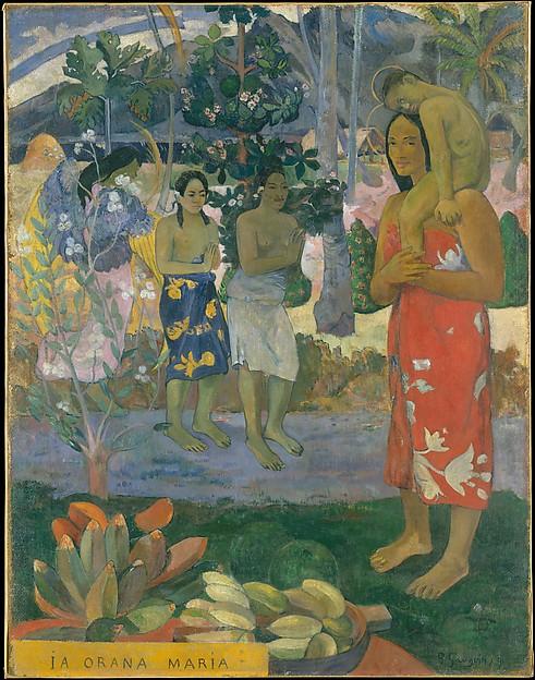 Paul Gauguin | Ia Orana Maria (Hail Mary) | The Met