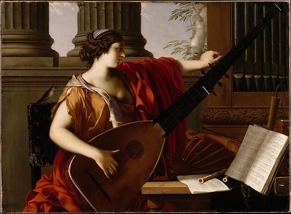 Allegory of Music, Laurent de La Hyre (French, Paris 1606–1656 Paris), Oil on canvas