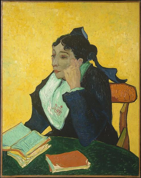 L'Arlésienne: Madame Joseph-Michel Ginoux (Marie Julien, 1848–1911), Vincent van Gogh (Dutch, Zundert 1853–1890 Auvers-sur-Oise), Oil on canvas