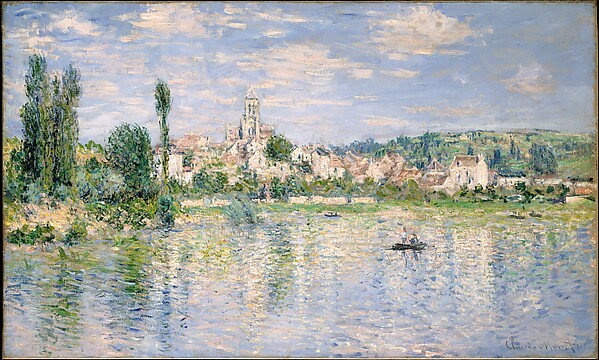 Vétheuil in Summer, Claude Monet (French, Paris 1840–1926 Giverny), Oil on canvas