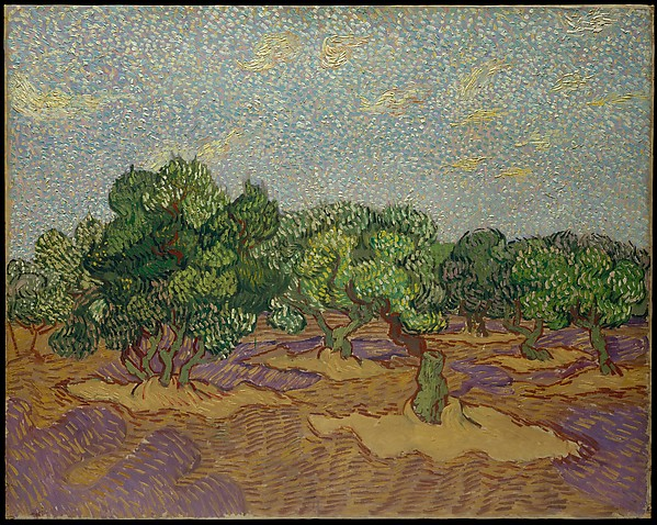 Olive Trees, Vincent van Gogh (Dutch, Zundert 1853–1890 Auvers-sur-Oise), Oil on canvas